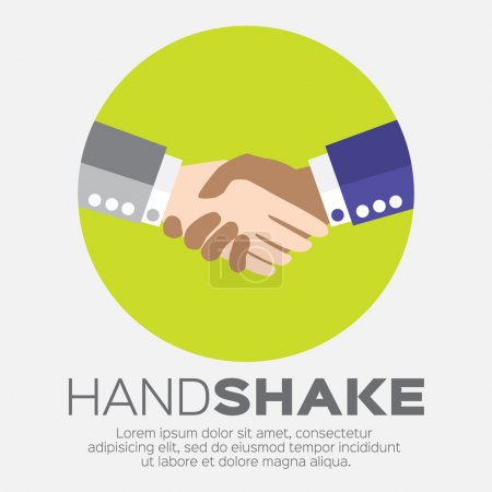 Handshake. Two businessmen making a deal