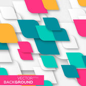 Geometric abstract background with squares rhombus shapes