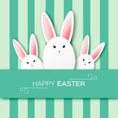 Greeting card with Happy Easter
