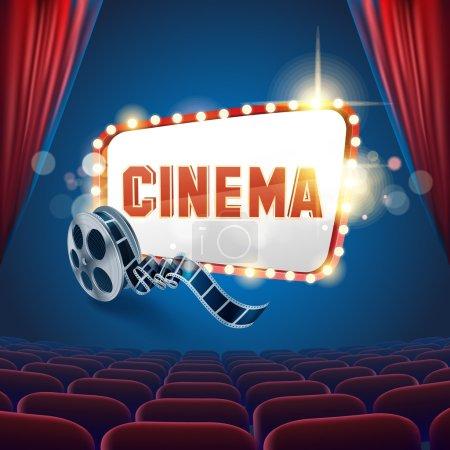 Kino chorąży światło