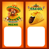 MENU MEXICAN CHILI taco