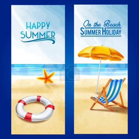 Photo for Frames seaside summer  beach - Royalty Free Image