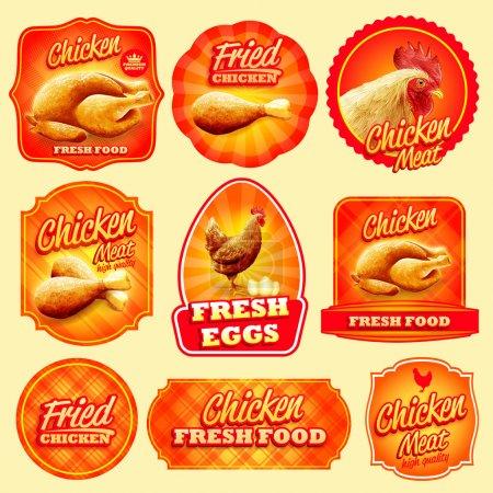CHICKEN menu food