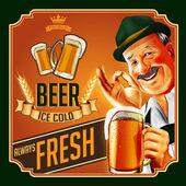 Németország sör háttér