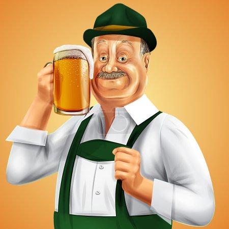 Germany beer background