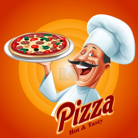 chef pizza banner