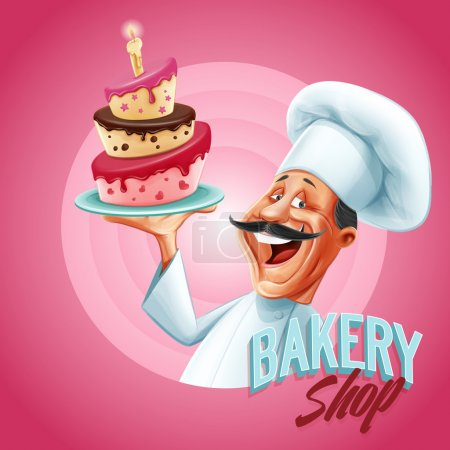 chef of bakery shop