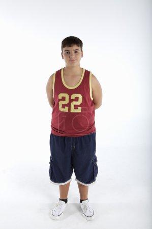 boy dressed in Sportswear
