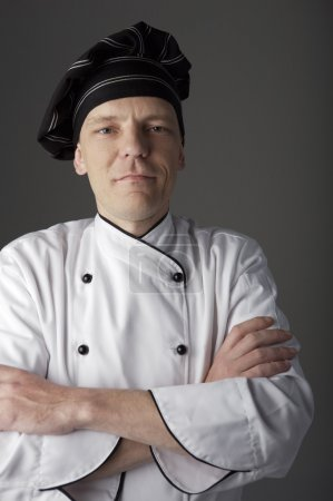 Chef with crossed arms