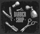 Set tool for BarberShop