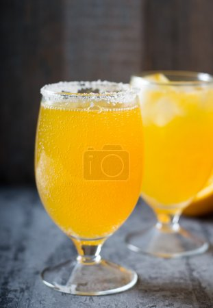 Agua de Valencia from fresh orange
