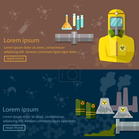 Environment pollution chemical waste