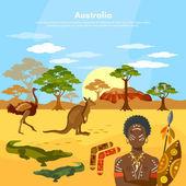 Australia travel to Australia people and animals