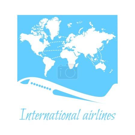 International airlines, logo