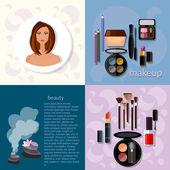 Beauty fashion concept makeup