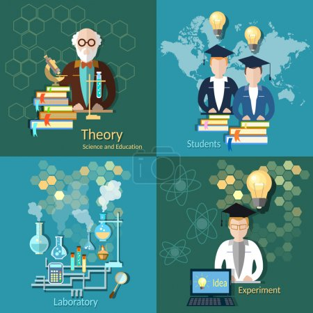 Science and education, profesor