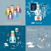 Medicine: doctors and patients