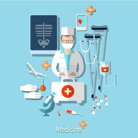 Medicine: doctor, radiologist, x-rays