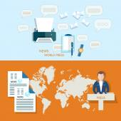 Global news business world press