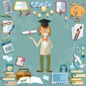 Back to school student education school