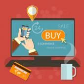 Oinline nakupování smartphone e komerce