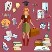 Education concept: student