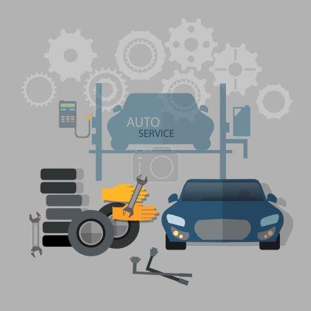 Auto service, car repair