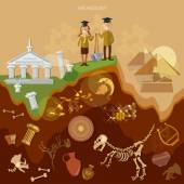 Archeology treasure hunters archaeological excavations ancient artifacts