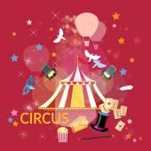 A következő szálláshely cirkuszi előadás, cirkusz cirkuszi sátor