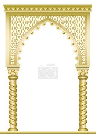 Golden East Arch