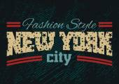 New York city Fashion style denim 1