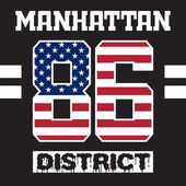 manhattan district t-shirt
