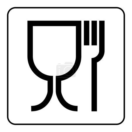 food black sign