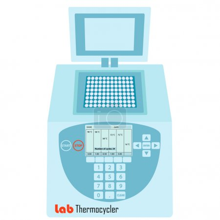 Thermal cycler -  laboratory apparatus for polymer...