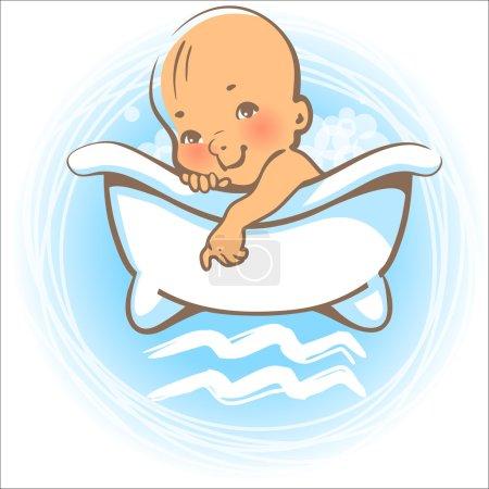 Baby zodiac. Aquarius