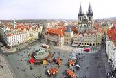 Town Square in Prague, Czech Republic