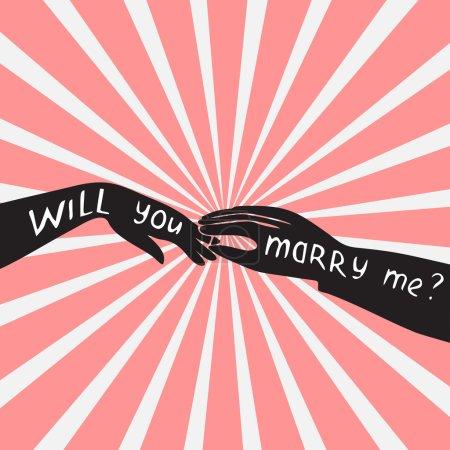 proposition de mariage veux-tu m'épouser