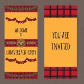 Rustic Woodsy Outdoor Lumberjack party ideas tickets camping party ideas