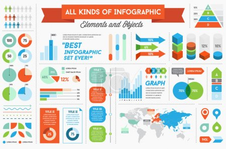 Infographics Elements for Business