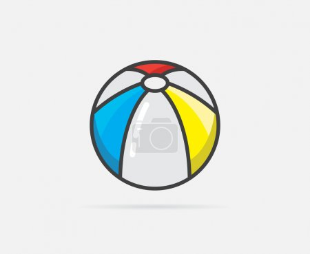 Beach Ball Logo or Icon