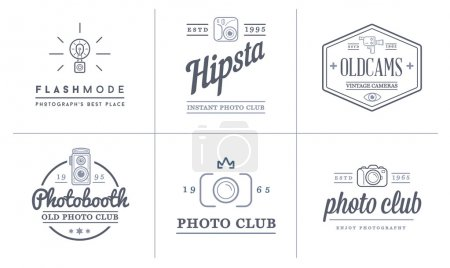 Photo Camera and Video Camera Icons