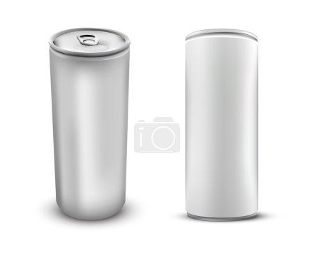 Blank White Foil Food Packaging