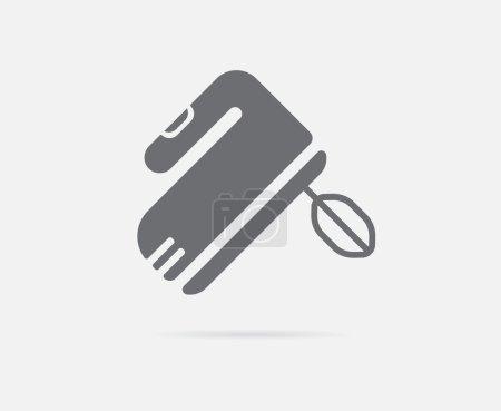 Hand Speed Mixer Icon