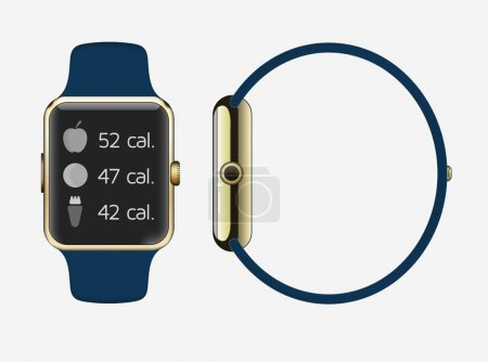 Icon of Smart Watch with Smart Interface