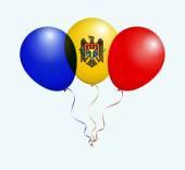 Moldova National Flag Balloons