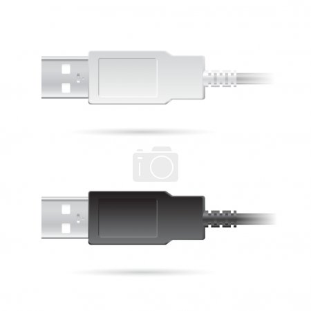 two USB cables