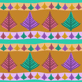 Hand-painted seamless pattern