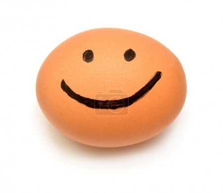 Cute Egg smiling