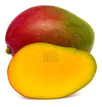 Mango fruit and slice