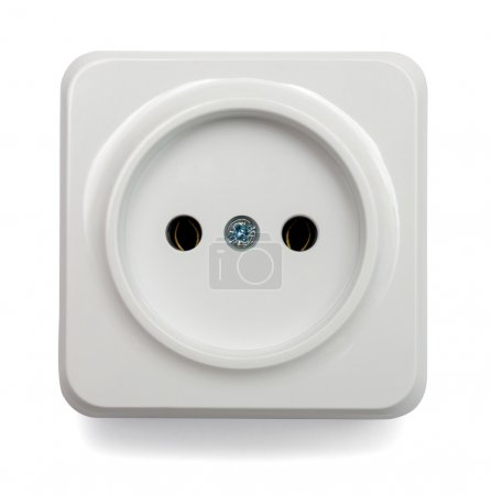 one white outlet